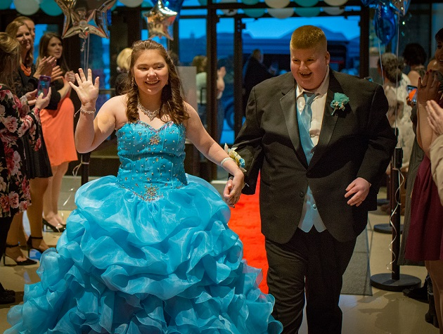 A prom experience for people with special needs.