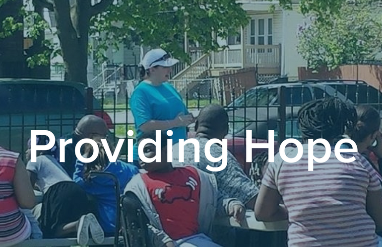 Providign Hope to the homeless in the Roseland community of Chicago