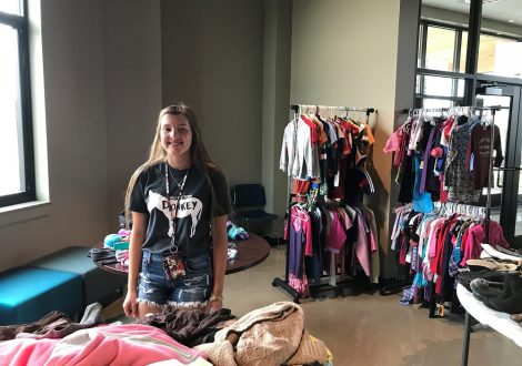 Reclaim3d (reclaimedcharity.org) gives back to the community by providing back to school clothes to local families in the Minooka / Channahon area.