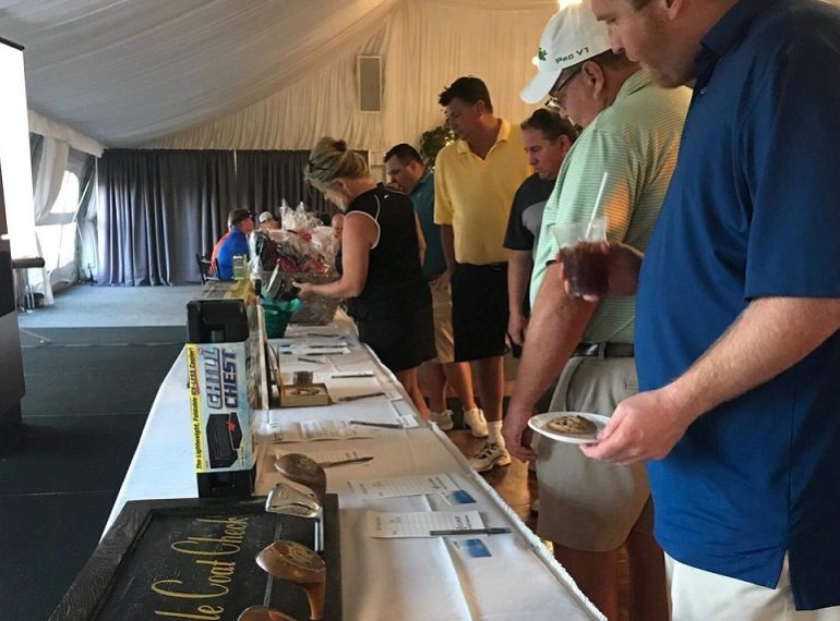 Golf Outing raises $14,000 for Minooka, IL and surrounding communities.