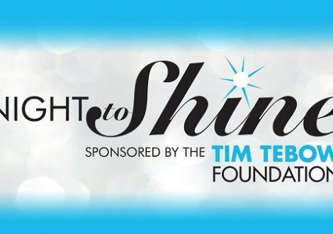 February 9, 2018 will be the annual Night To Shine, a prom experience for people with special needs. Tim Tebow Foundation will be partnering with Reclaimed, The Village Christian Church and Crossroads Christian Church.