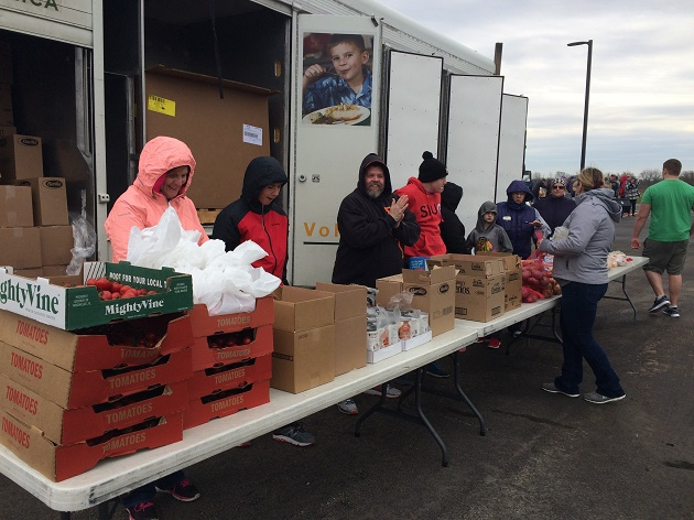 Food trucks help families in need by providing food to those in Minooka and surrounding communities.